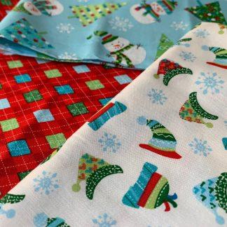 Les tissus de Noël et d'hiver
